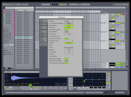 Clean Trio Theme for Ableton 10 by eEd