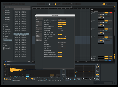 Cool Theme for Ableton 10 by sietse