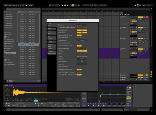 Taco Theme for Ableton 10 by darkluiside