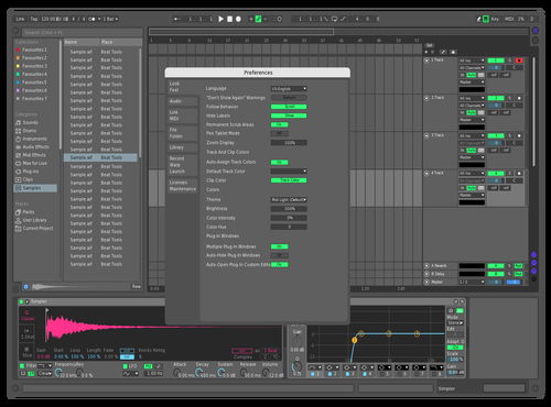Filip1 Theme for Ableton 10 by Filip Crvenkovic