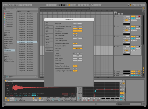 Small change Theme for Ableton 10 by ori