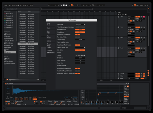 Engine 2 Theme for Ableton 10 by Not Reaver alt