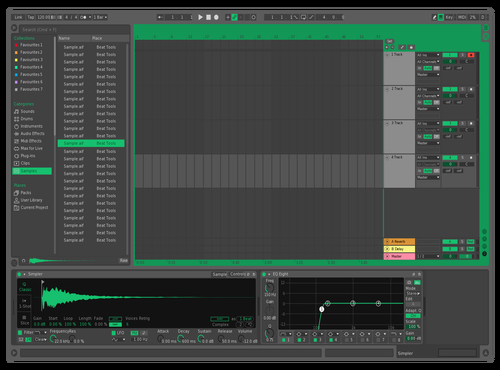 Mint Theme for Ableton 10