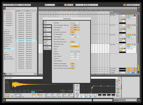 Hodfs Theme for Ableton 10 by Ho