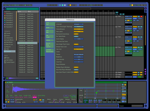 AtlasVision Theme for Ableton 10 by Brian