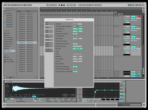 LOGPRO9 Theme for Ableton 10 by david