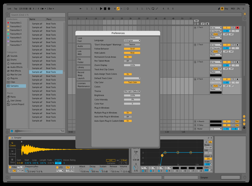 Modern Light Theme for Ableton 10 by Necky