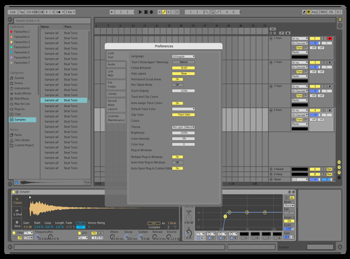 SAME OL BRIGHTER Theme for Ableton 10 by skyler mcdonald