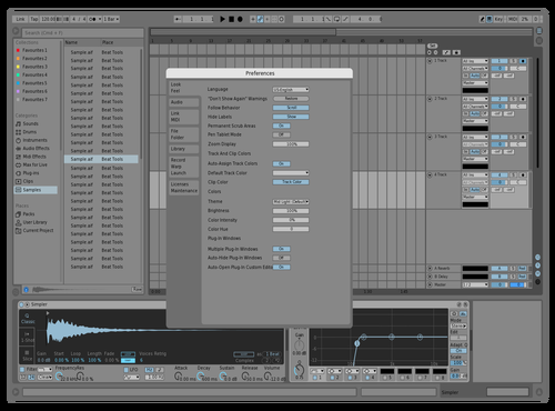 Light Blue | mdmp Theme for Ableton 10 by Michael