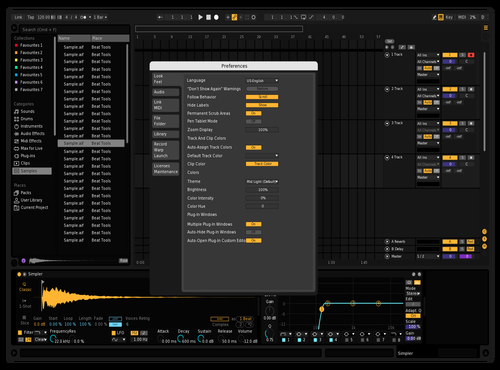 Ableton Dark Mode Theme for Ableton 10 by Juanra