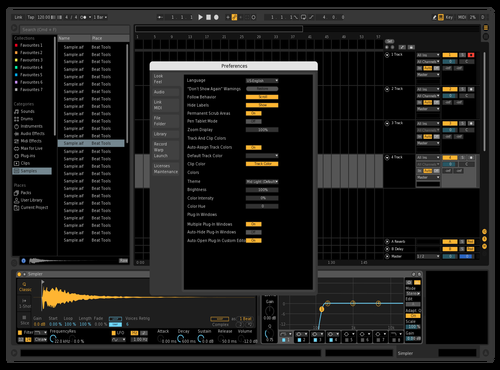 Darker Dark Theme for Ableton 10 by Ableton Suite