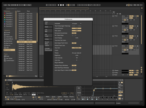 Kings Beige Theme for Ableton 10 by akvma