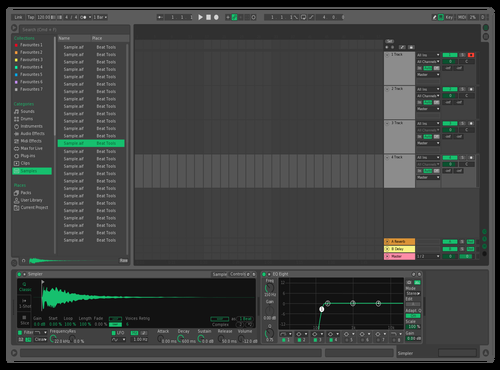 Bla Theme for Ableton 10 by Andy Macpherson