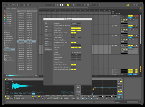 Mid Dark K Theme for Ableton 10 by cocotto