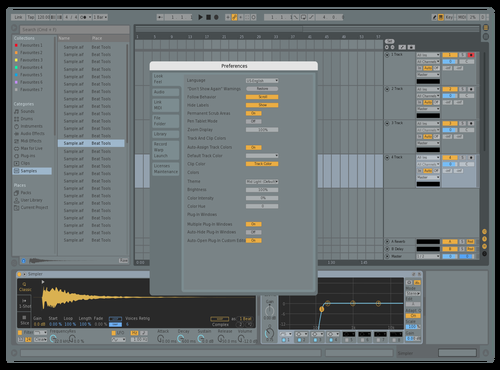 Transparent Theme for Ableton 10 by smh