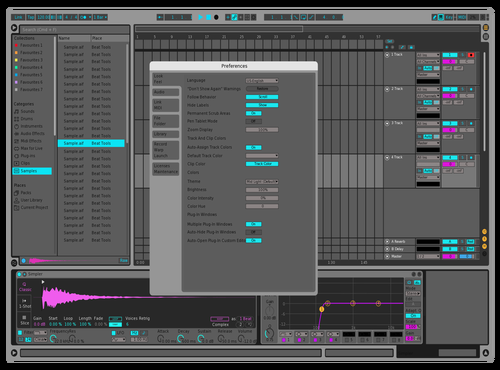 Paulo Dark Theme for Ableton 10 by Paulo