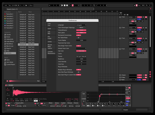 Faded 2.0 Theme for Ableton 10 by Kyle Roberts
