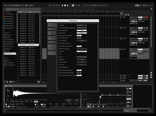 White Ops Theme for Ableton 10 by Gabriel