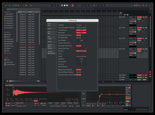 Cyrex Theme for Ableton 10 by apstract