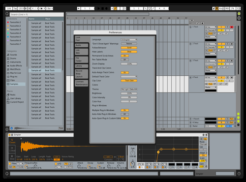 Midhaus Theme for Ableton 10 by Daniel Christian