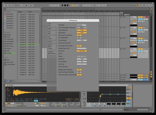 Default Theme for Ableton 10 by Mezotar