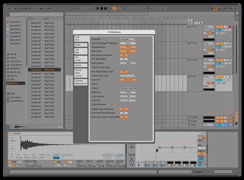 Neon grey Theme for Ableton 10 by RedBull