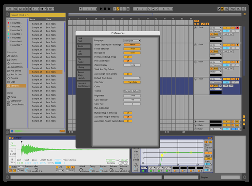 Ciel theme Theme for Ableton 10 by Ciel
