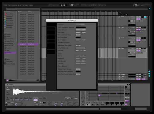 Kristo7 Theme for Ableton 10 by kristo