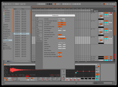 DRG1 Theme for Ableton 10 by david