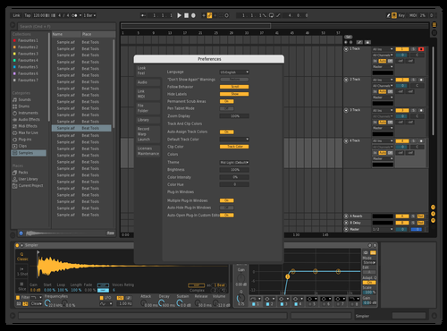 Dark - Sharpened Theme for Ableton 10 by x39
