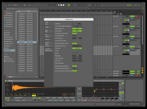 New Mid Dark Theme Theme for Ableton 10 by Bruno