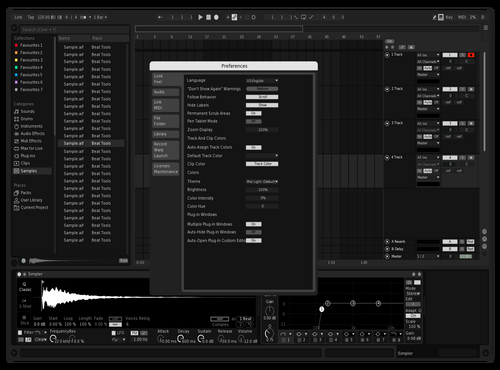 Kuro Theme for Ableton 10 by Kuro