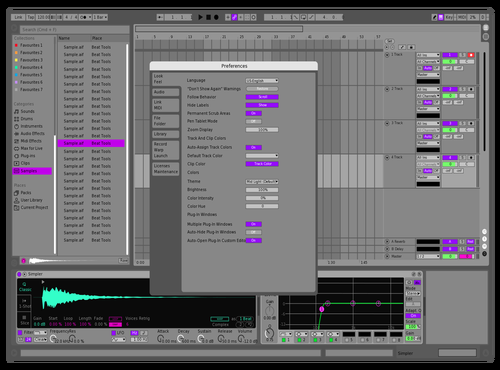 Christi Theme for Ableton 10 by kristo