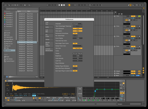 WHOOPS o Theme for Ableton 10 by BLACKOUT X