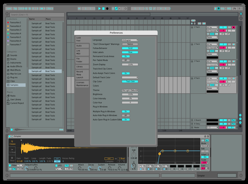 Mid Light Rum1che Theme for Ableton 10 by Brayan Rumiche
