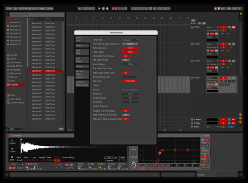 DISCO_2.1_RED19_EDIT Theme for Ableton 10 by Red19