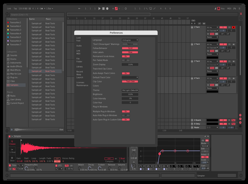 Refined Theme for Ableton 10 by P