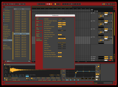 Gryffindor New 2 Theme for Ableton 10 by Potta