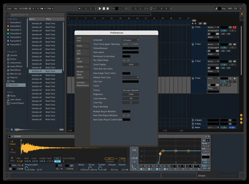 Mio2 Theme for Ableton 10 by Michele Surgo