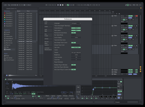 Discord but less contrast Theme for Ableton 10 by UnknownTurtle