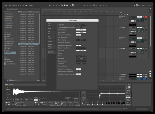Mete Atmaca Theme for Ableton 10 by mete