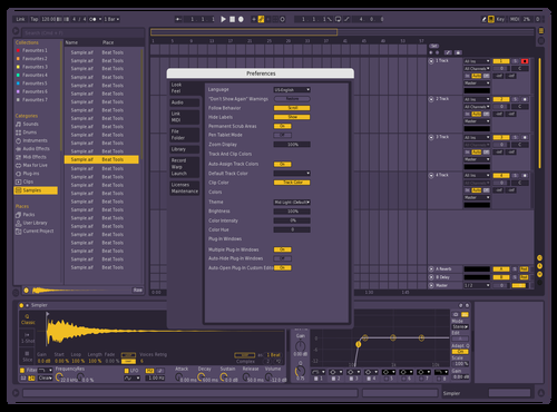 Lightning Theme for Ableton 10 by 1JM Project