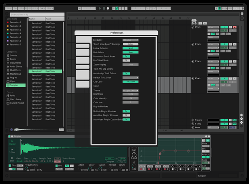 Sharp Theme for Ableton 10 by sinki