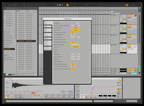 Mas Theme for Ableton 10 by harris