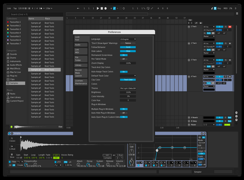 Zipzap Theme for Ableton 10 by lauris