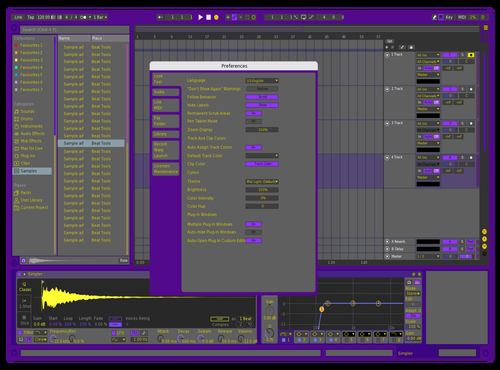 Lakerpaper2 Theme for Ableton 10 by willl