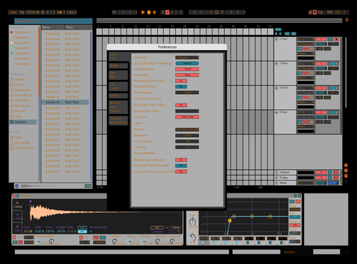 Swag Theme for Ableton 10 by Vincent Aurigemma
