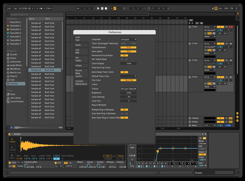 Epic Dark Theme for Ableton 10 by john