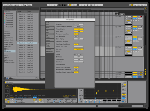 Dark&Light Theme for Ableton 10 by Gurney