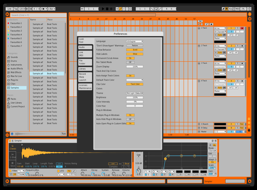 Prueba 1 spot color paps Theme for Ableton 10 by Israel torres